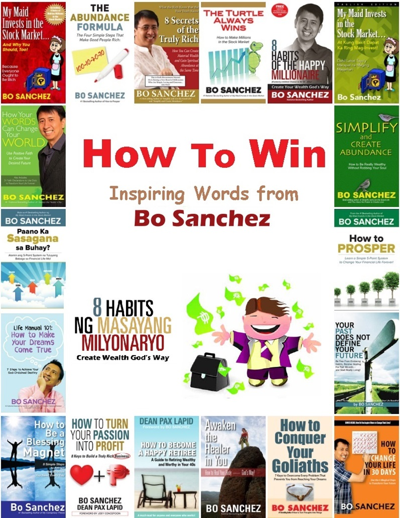How To Win - Inspiring Words from Bo Sanchez